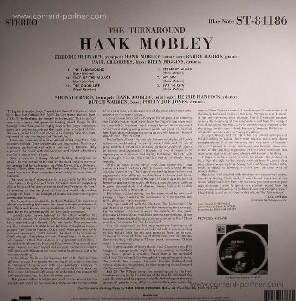 Hank Mobley - The Turnaround (Rem. + DL-Code) (Back)