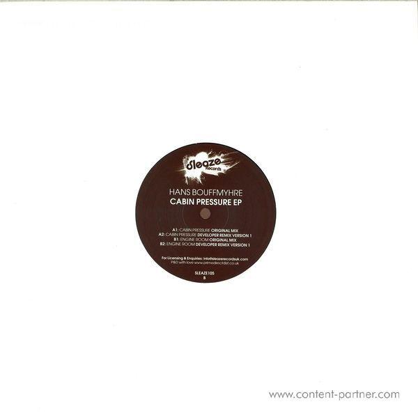 Hans Bouffmyhre - Cabin Pressure EP (Back)