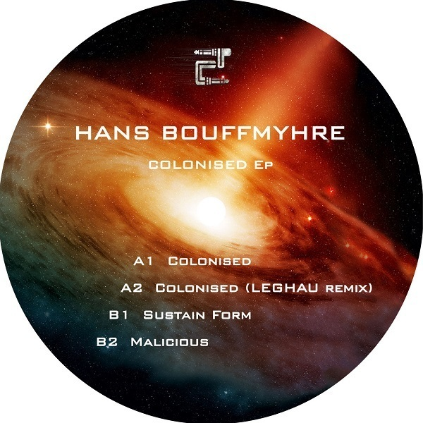 Hans Bouffmyhre - Colonised Ep (incl. Leghau Remix) (Back)