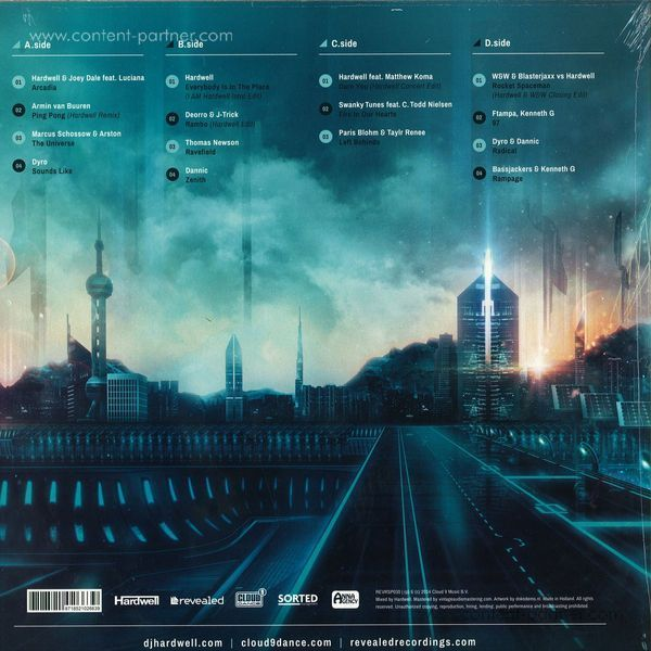 Hardwell - Revealed Volume 5 (2x12