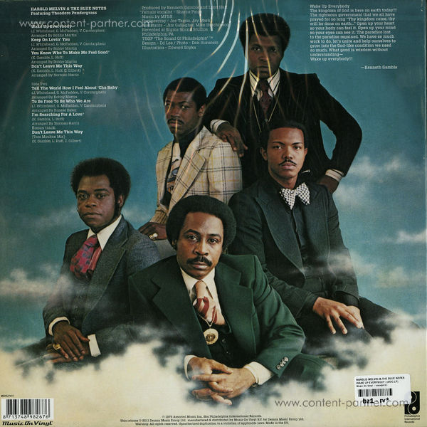 Harold Melvin And The Blue Notes - Wake Up Everybody (Back)