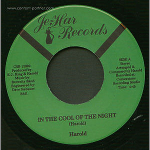 Harold - In The Cool Of The Night / Shortage Of L