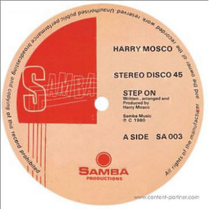 Harry Mosco - Step On / Sexy Dancer