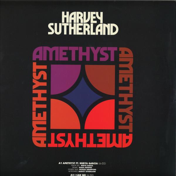 Harvey Sutherland - Amethyst EP (Back)
