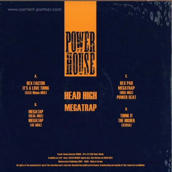 Head High - Megatrap (2x12'') (Back)