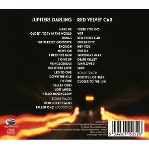 Heart - Jupiters Darling/Red Velvet Car (Back)