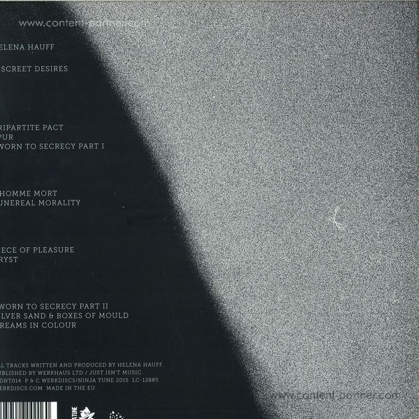 Helena Hauff - Discreet Desires (2LP+MP3) (Back)