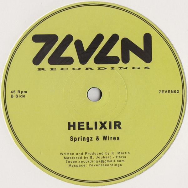 Helixir - Narcotik Dub / Springz & Wires (Back)