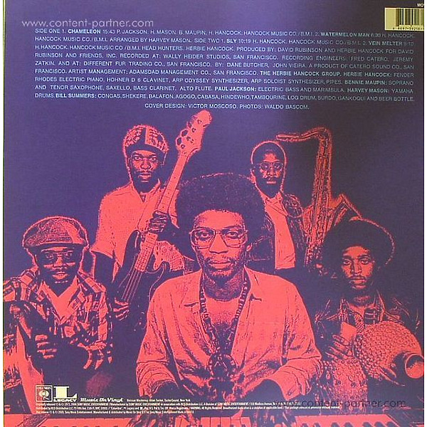 Herbie Hancock - Headhunters (Remastered) (Back)