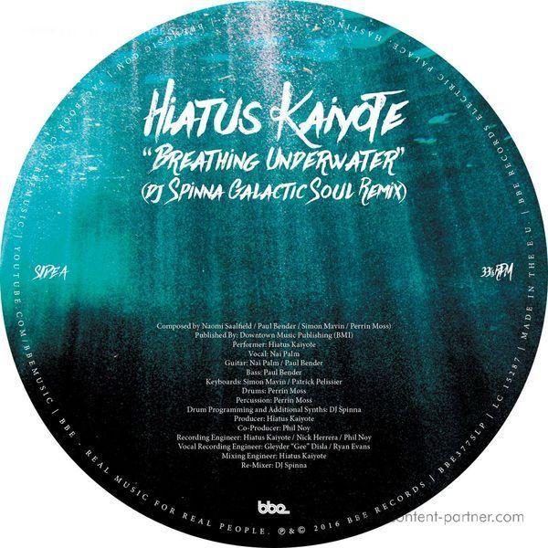 Hiatus Kaiyote - Breathing Underwater (DJ Spinna Remix)