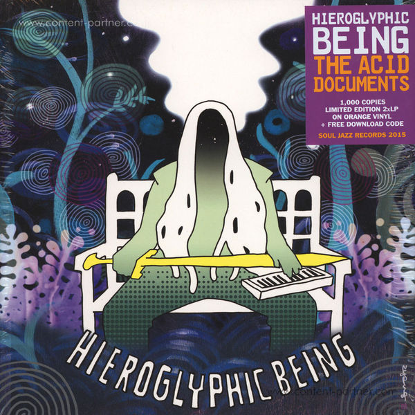 Hieroglyphic Being - The Acid Documents (ltd. coloured vinyl)