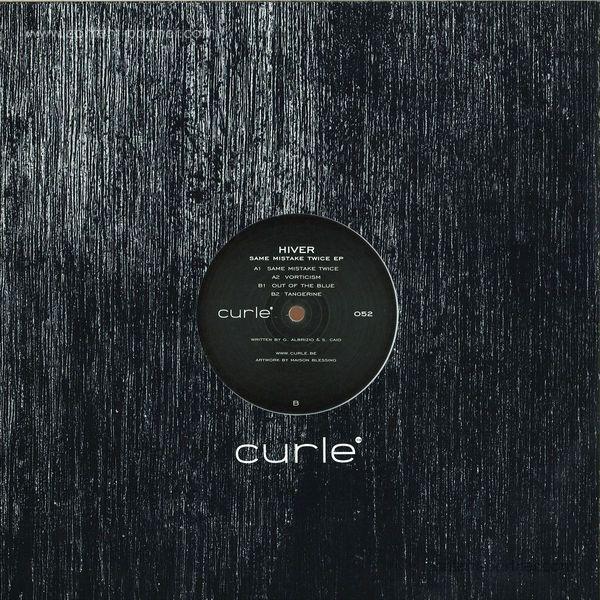 Hiver - Same Mistake Twice EP (Back)