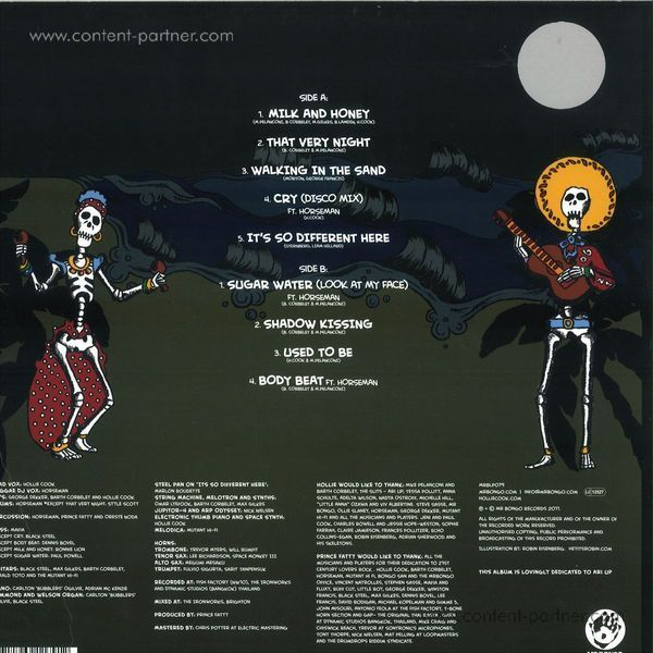 Hollie Cook - Hollie Cook (LP) (Back)
