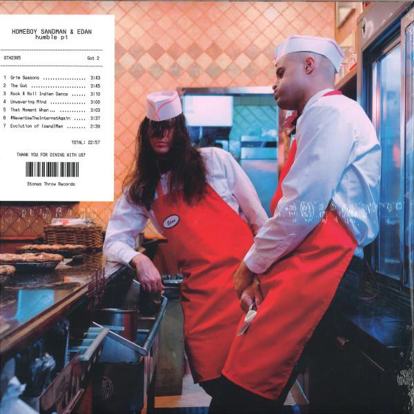 Homeboy Sandman & Edan - Humble Pi (LP) (Back)