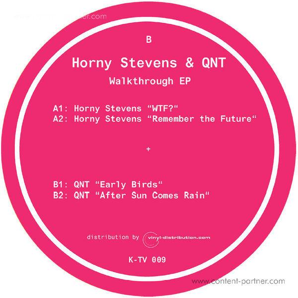 Horny Stevens & QNT - Walkthrough EP (Back)