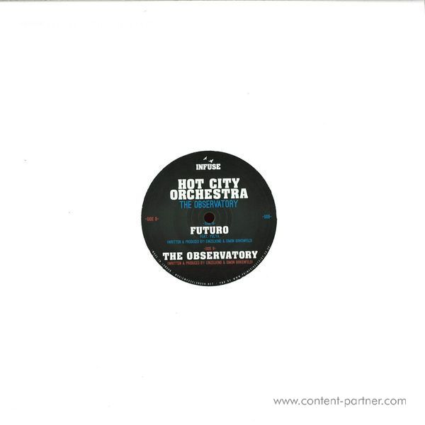 Hot City Orchestra - The Observatory (Back)
