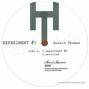 Howard Thomas - Experiment #1 (Repress)