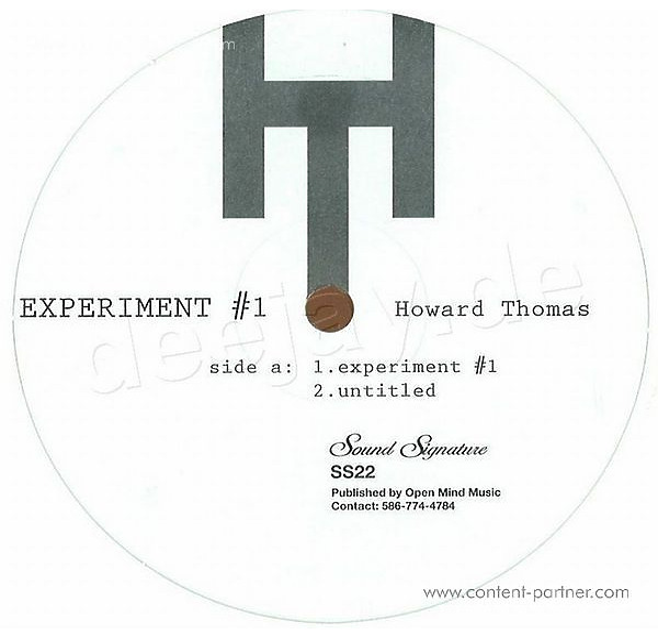 Howard Thomas - Experiment #1 (Repress)