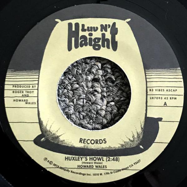 Howard Wales - Huxley's Howl / My Blues