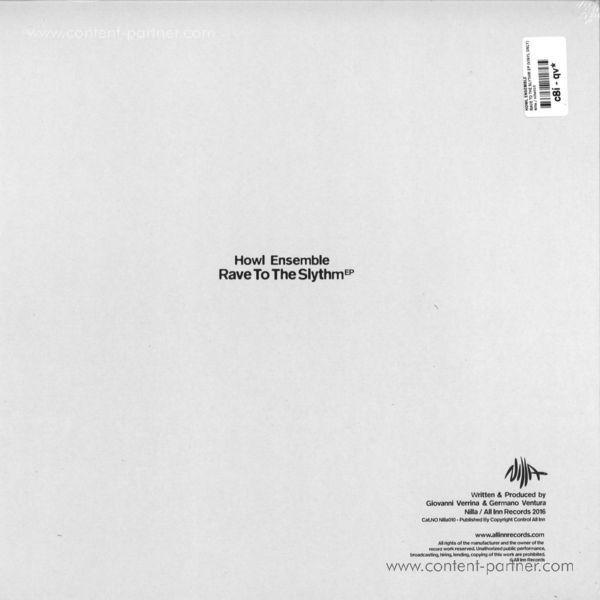 Howl Ensemble - Rave to the Slythm EP (Back)