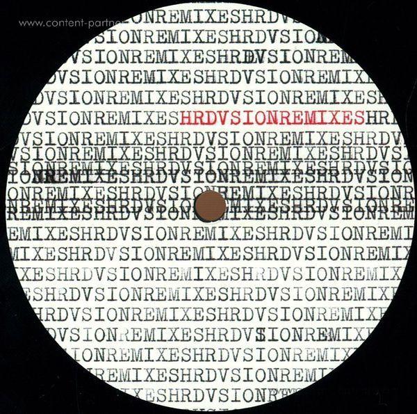 Hrdvsion - Hrdvsion Remixes (Back)