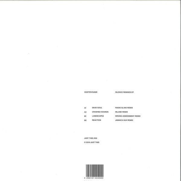 Hunter/Game - Silence Remixes EP (Back)