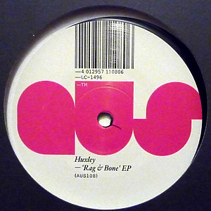 Huxley - Rag & Bone EP (Back)