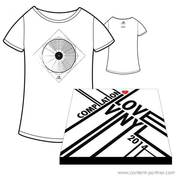 I Love Vinyl Open Air 2014 Comp. Box - Design A / Incl Booklet And Size M Shirt