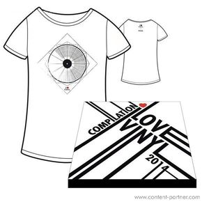 I Love Vinyl Open Air 2014 Comp. Box - Design A / Incl Booklet And Size S Shirt