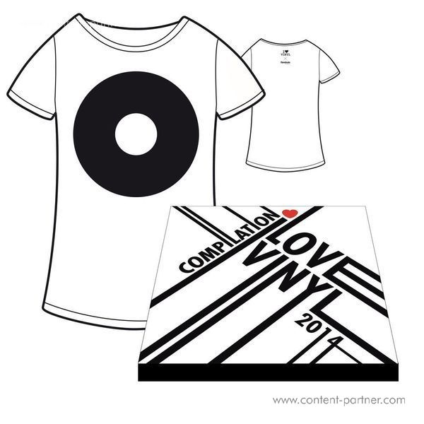 I Love Vinyl Open Air 2014 Comp. Box - Design B / Incl Booklet And Size M Shirt (Back)