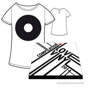 I Love Vinyl Open Air 2014 Comp. Box - Design B / Incl Booklet And Size S Shirt