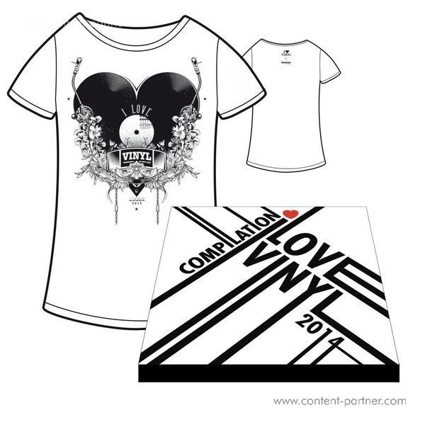 I Love Vinyl Open Air 2014 Comp. Box - Design C / Incl Booklet And Size M Shirt (Back)