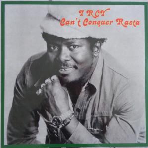 I Roy - Can't Conquer Rasta (LP)
