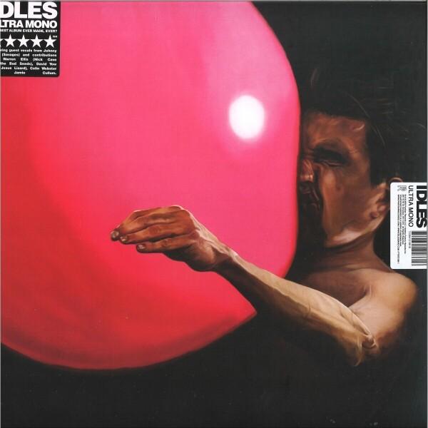 IDLES - Ultra Mono (Black Vinyl LP)