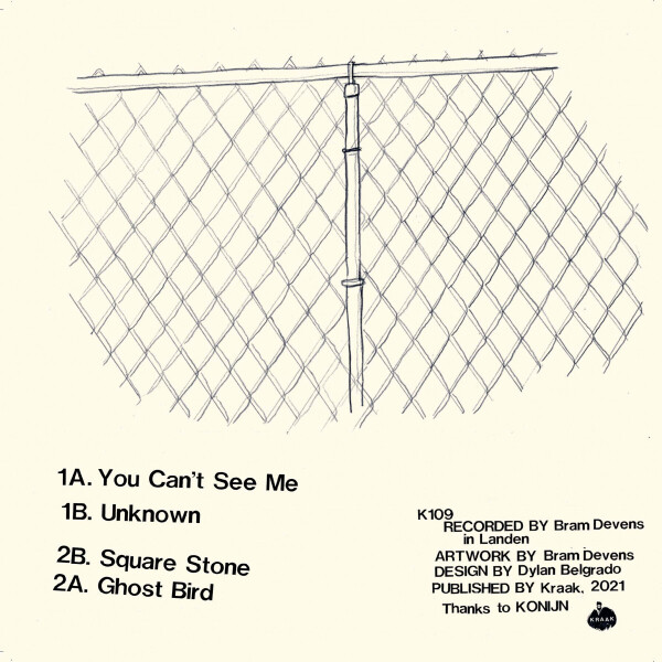 IGNATZ - YOU CAN'T SEE ME (Back)