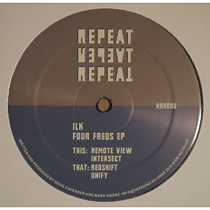 ILK - Four Freqs EP (Back)