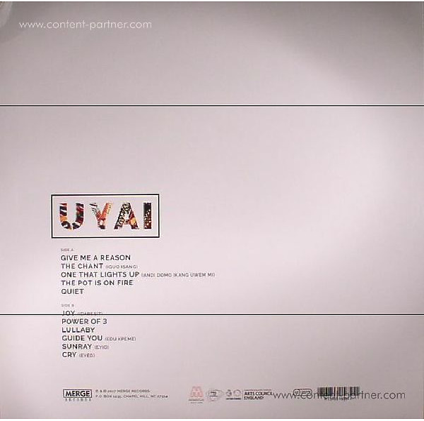 Ibibio Sound Machine - Uyai (LP) (Back)