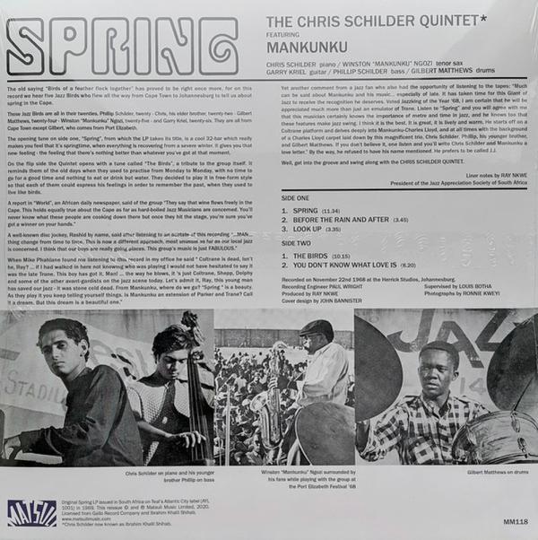 Ibrahim Khalil Shihab Quintet - Spring (Back)
