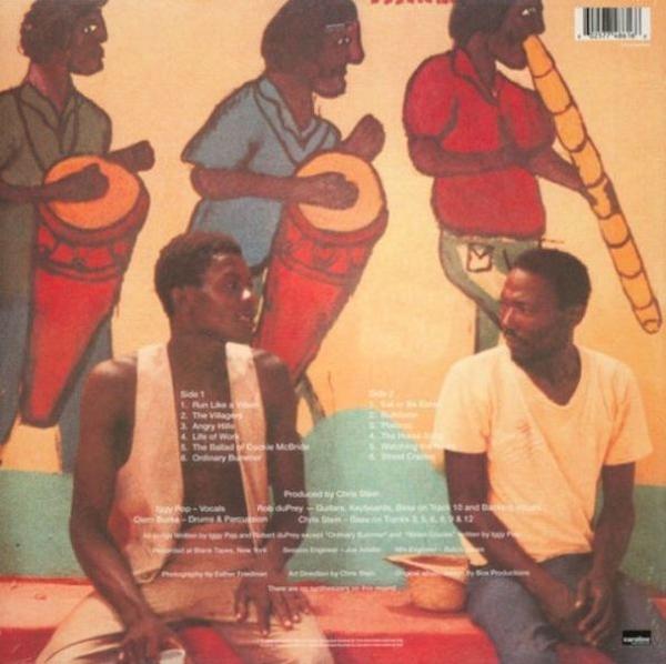 Iggy Pop - Zombie Birdhouse (Ltd. Orange Vinyl LP) (Back)