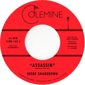 Ikebe Shakedown - Assassin / View From Above (Coloured Vinyl 7