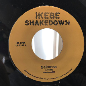 "Ikebe Shakedown - Sakonsa / Green and Black (7"")"
