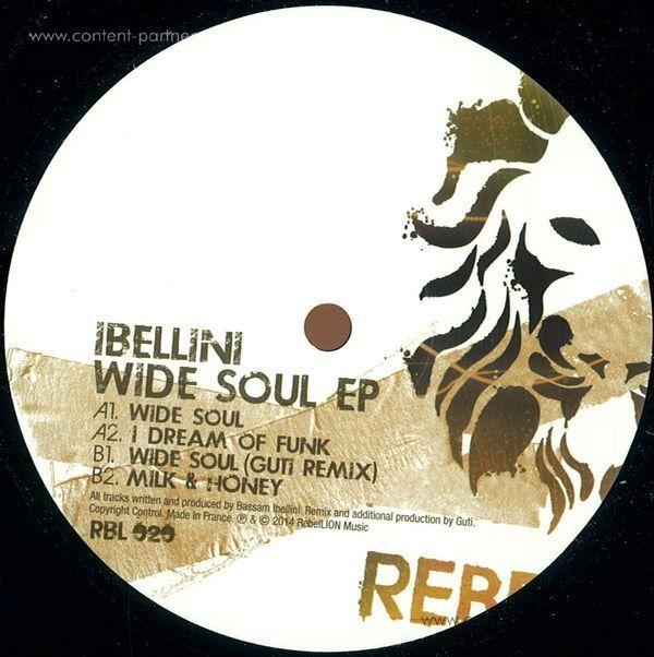 Ilbellini - Wide Soul Ep (Incl. Guti Remix)