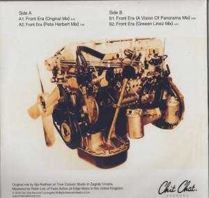 Ilija Rudman - Front Era Mixes (Back)
