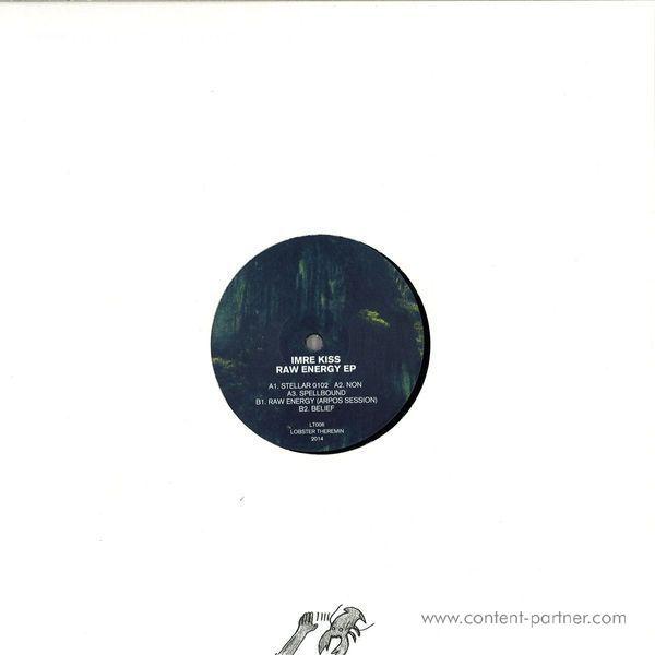 Imre Kiss - Raw Energy Ep (Repress) (Back)