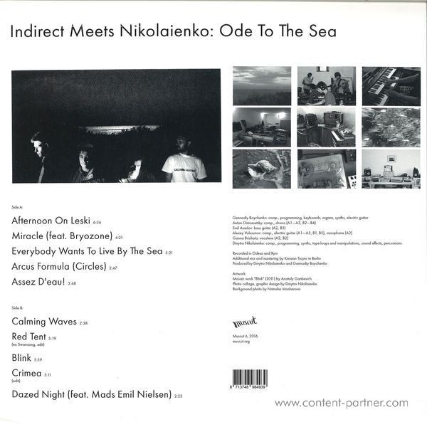 Indirect Meets Nikolaienko - Ode To The Sea (Back)