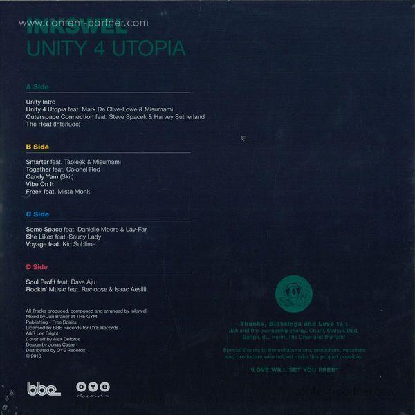 Inkswel - Unity 4 Utopia (Back)