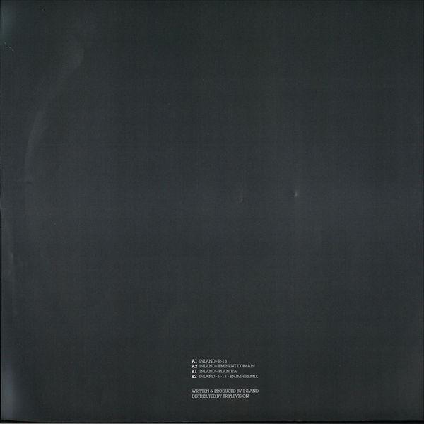 Inland - Inland - R-13 EP (Back)