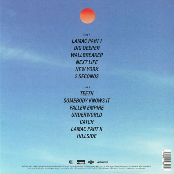 Inner Tongue - Favours (LP) (Back)