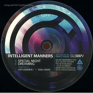 Intelligent Manners - Special Night Ep
