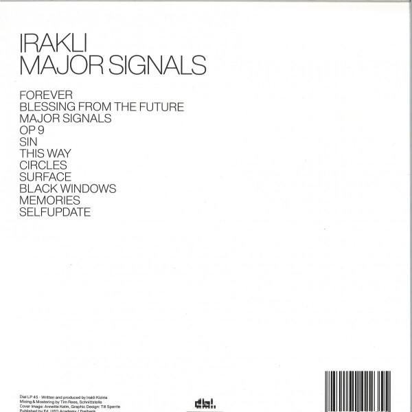Irakli - Major Signals (Back)